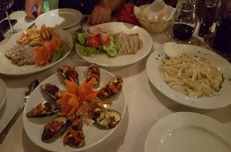 Alla Baia Restaurant Bophut Koh Samui Thailand