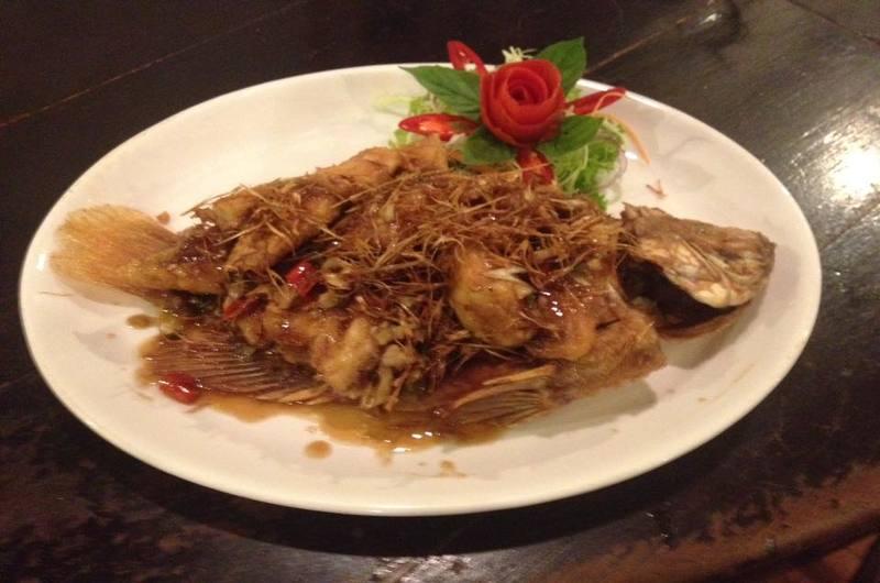 Anong Restaurant Choeng Mon Koh Samui Thailand