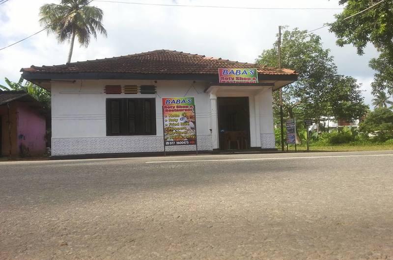 Baba's Roty Shop Restaurant Weligama Sri Lanka