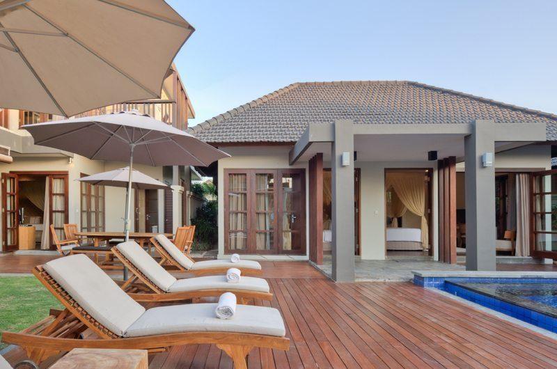 Akara Villas 3 Reclining Sun Loungers | Seminyak, Bali