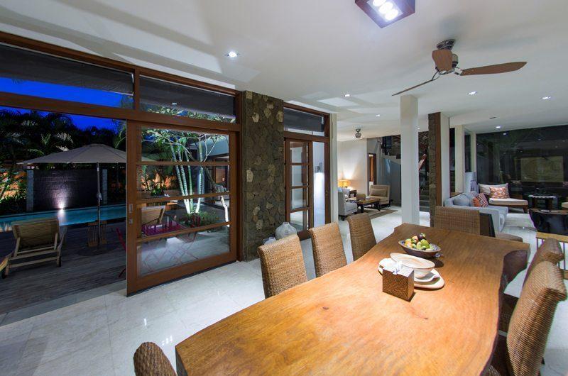 Akara Villas M Pool Side Dining Area | Seminyak, Bali