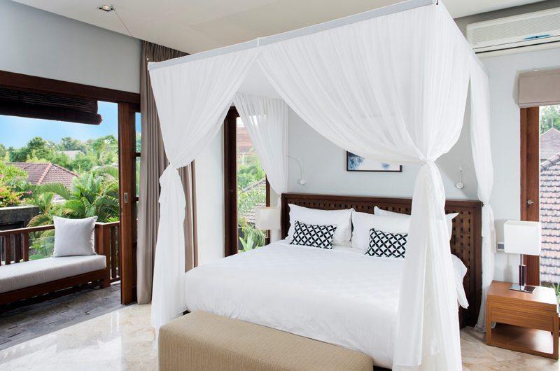 Akara Villas M Bedroom and Balcony | Seminyak, Bali