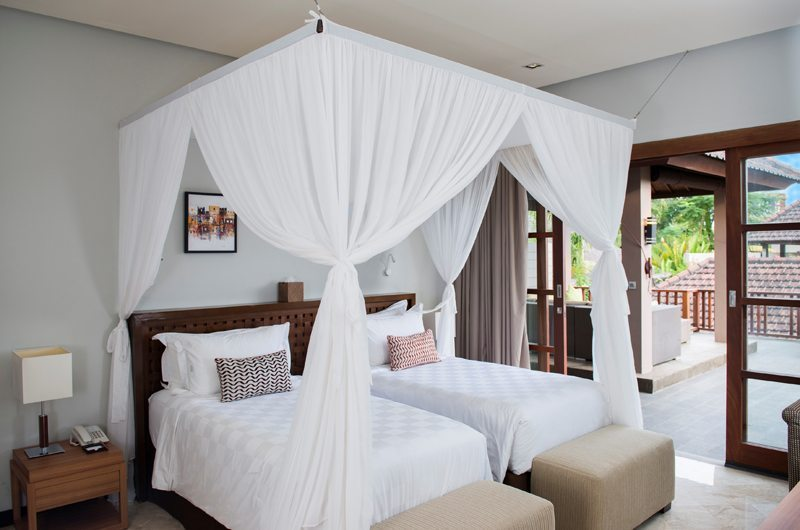 Akara Villas M Twin Bedroom | Seminyak, Bali
