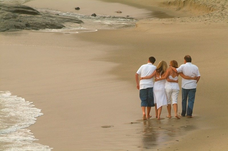 Family photoshoot to celebrate Mother's Day in Bali