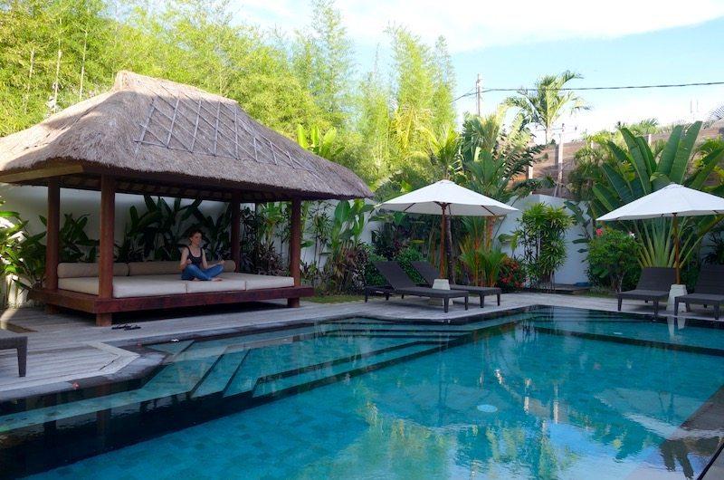 Pool bale of Villa Tangram | Seminyak villa in Bali, Indonesia