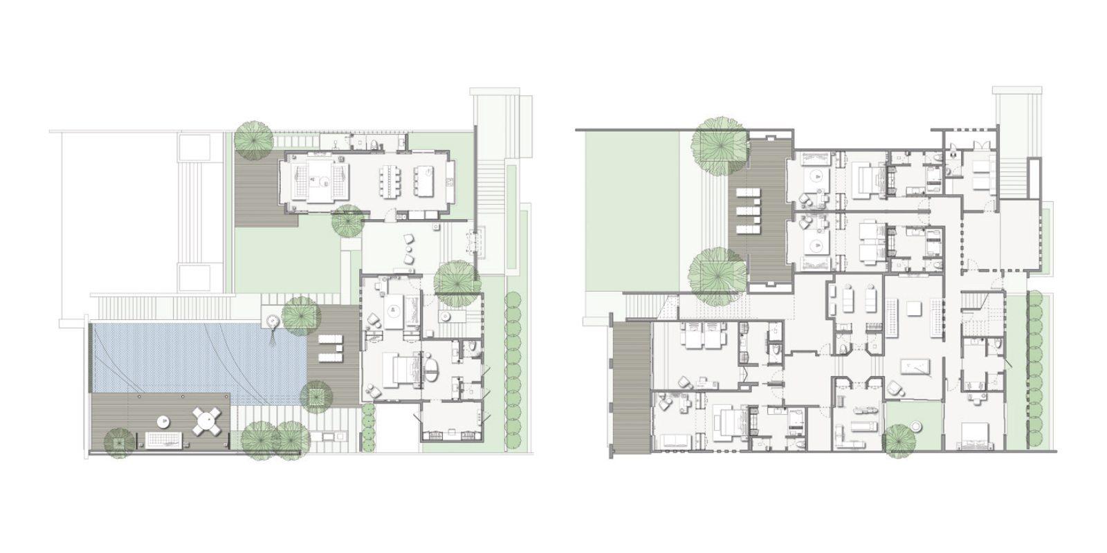 Soori Residence Floorplan | Tabanan, Bali