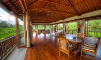 The Malabar House Open Plan Living Room | Ubud, Bali