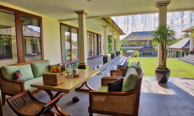 The Malabar House Outdoor Seating Area | Ubud, Bali