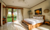 The Malabar House King Size Bed with View | Ubud, Bali