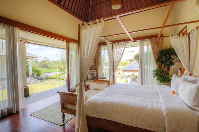 The Malabar House Bedroom with Pool View | Ubud, Bali