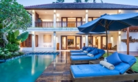 Villa Kajou Reclining Sun Loungers   Seminyak, Bali