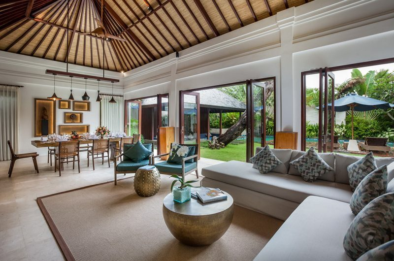 Villa Kajou Living and Dining Area   Seminyak, Bali