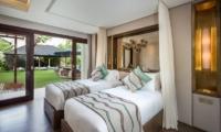 Villa Kajou Twin Bedroom   Seminyak, Bali