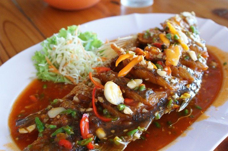 Bang Por Seafood Restaurant Koh Samui Thailand
