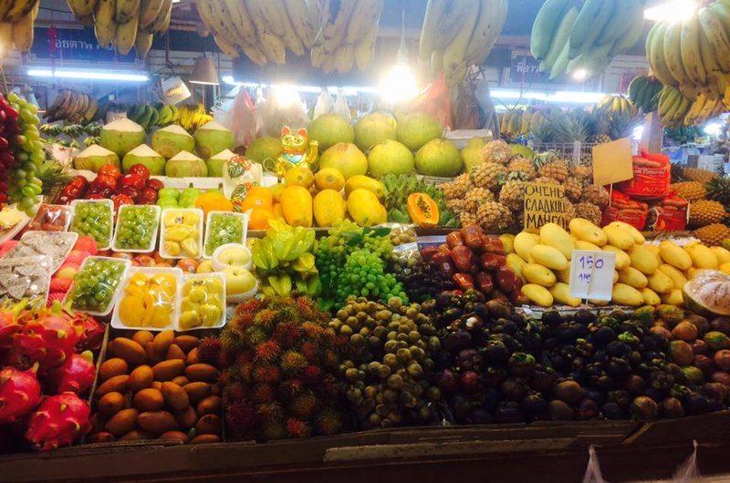 Banzaan Fresh Market Patong Phuket Thailand