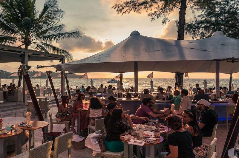 Catch Beach Club Bangtao Phuket Thailand