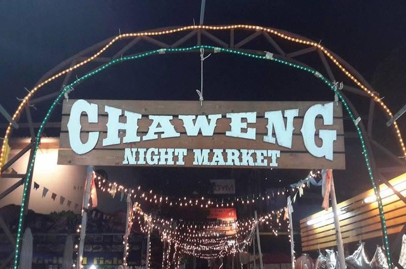 Chaweng Night Market Koh Samui Thailand