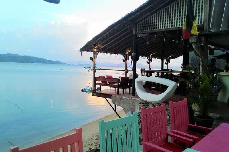 French Kiss Thanod Restaurant Taling Ngam Koh Samui Thailand