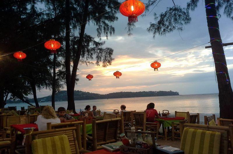 Green Leaf Restaurant Bangtao Phuket Thailand