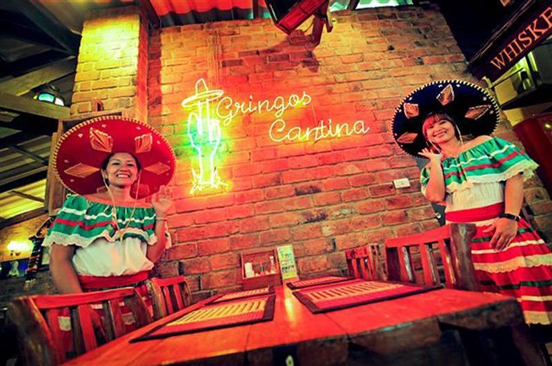 Gringo's Cantina Restaurant Chaweng Koh Samui Thailand