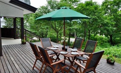 Altitude Hakuba Outdoor Dining Area | Hakuba, Nagano