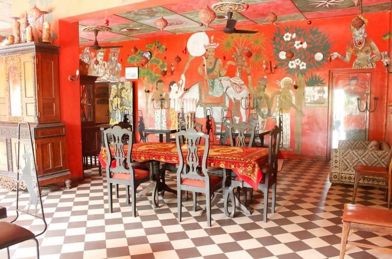 Helga's Folly Restaurant Kandy Sri Lanka