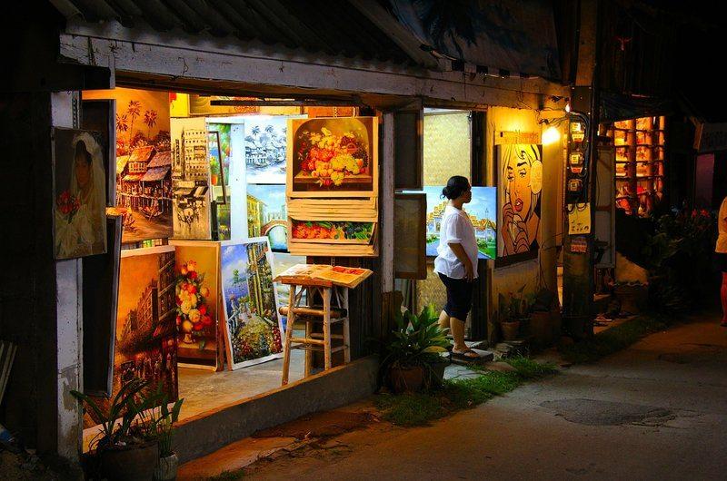 Kamala Walkway Shopping Phuket Thailand