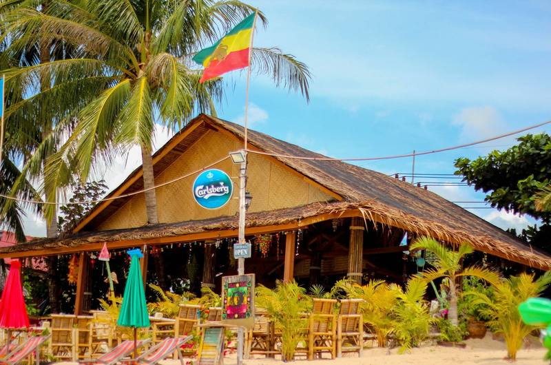 King Busch Reggae Bar Maenam Koh Samui Thailand