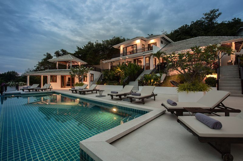 Secret Beach Villa Night View | Koh Pha Ngan, Koh Samui