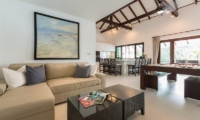 Secret Beach Villa Indoor Living Area | Koh Pha Ngan, Koh Samui