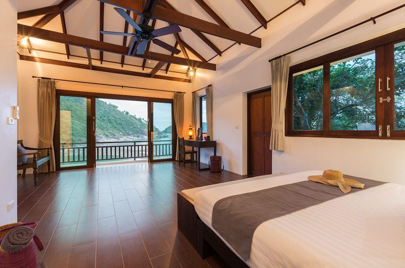Secret Beach Villa King Size Bed with View | Koh Pha Ngan, Koh Samui