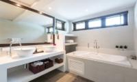 Secret Beach Villa En-suite Bathroom | Koh Pha Ngan, Koh Samui