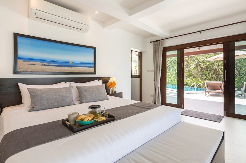 Secret Beach Villa Bedroom with Pool View | Koh Pha Ngan, Koh Samui