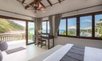 Secret Beach Villa Bedroom View | Koh Pha Ngan, Koh Samui
