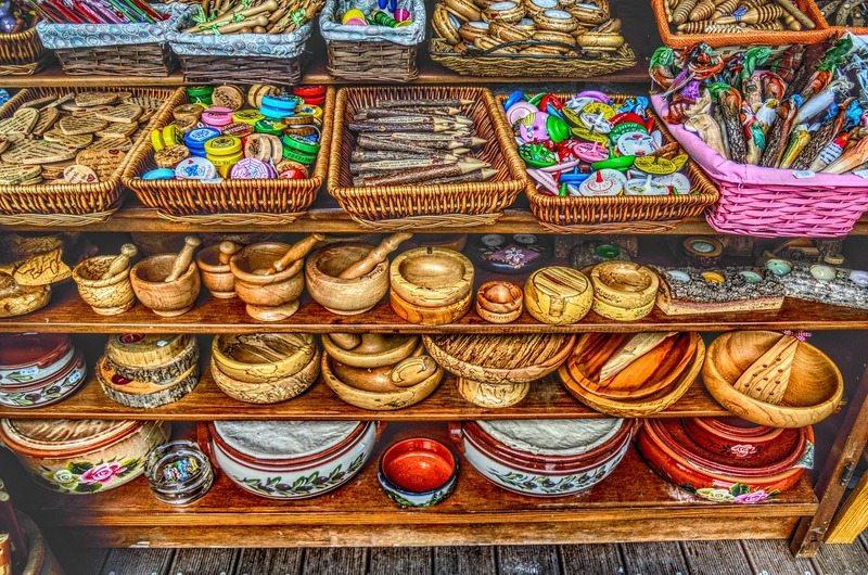 Lamai Walking Street Shopping Koh Samui Thailand