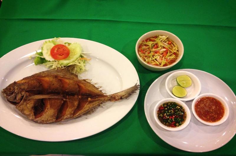 Long Table Restaurant Choeng Mon Koh Samui Thailand