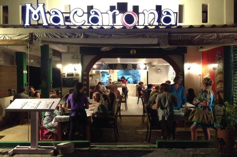 Macarona Restaurant Naithon Phuket Thailand
