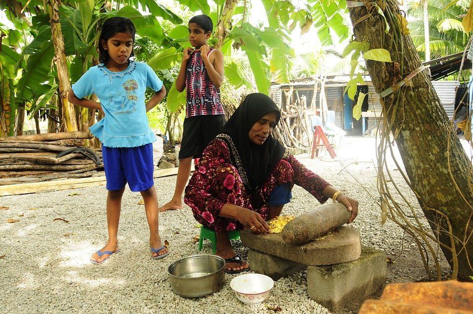 Unique local culture in the Maldives
