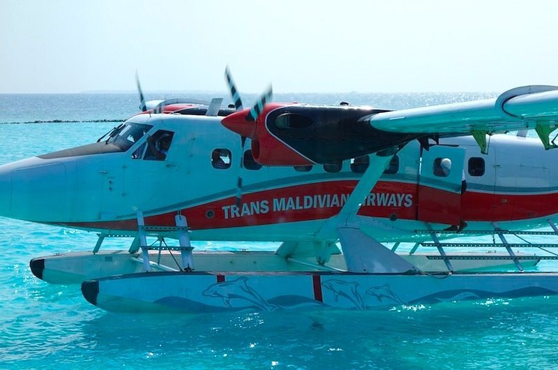 Seaplane at the Maldives | How to get around in the Maldives