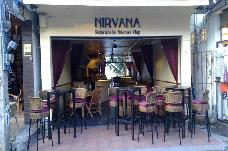 Nirvana Restaurant Bophut Koh Samui Thailand
