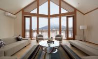 The Orchards Niseko Eagle's Nest Indoor Living Area | St Moritz, Niseko