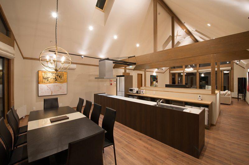 The Orchards Niseko Goyomatsu Kitchen and Dining Area | St Moritz, Niseko