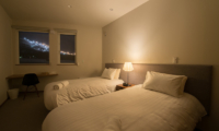 The Orchards Niseko Hinoki Twin Bedroom View | St Moritz, Niseko