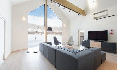 The Orchards Niseko Kitsune Living Area | St Moritz, Niseko