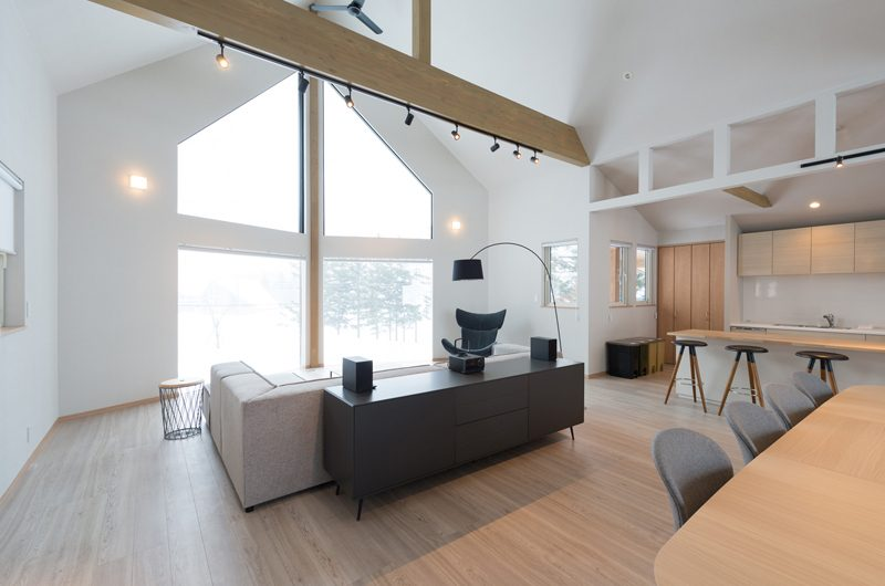 The Orchards Niseko Kitsune Indoor Living Area | St Moritz, Niseko