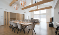 The Orchards Niseko Sawara Living and Dining Area | St Moritz, Niseko