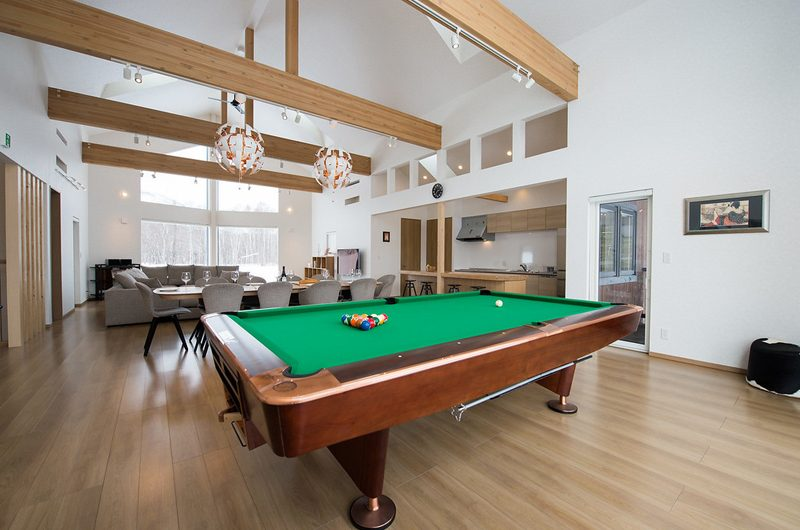 The Orchards Niseko Sawara Billiard Table | St Moritz, Niseko
