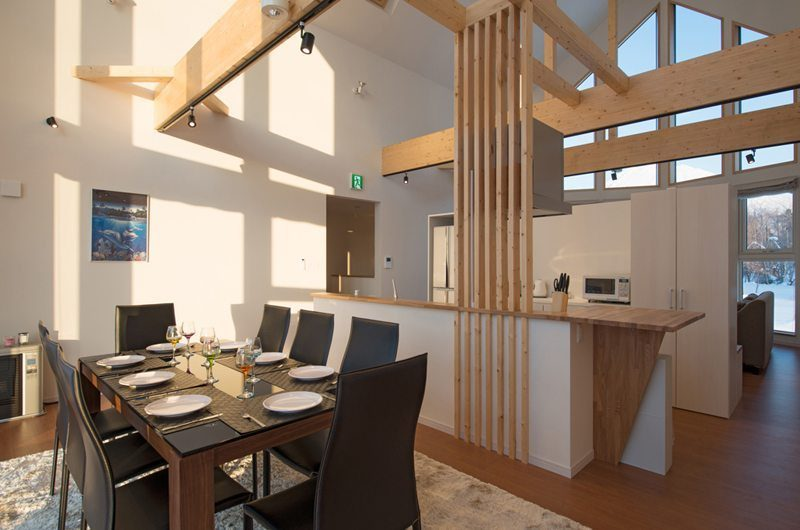 The Orchards Niseko Shion Dining and Kitchen Area | St Moritz, Niseko