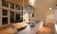 The Orchards Niseko Shion Kitchen and Dining Area | St Moritz, Niseko