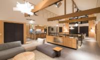 The Orchards Niseko Take Living and Kitchen Area | St Moritz, Niseko